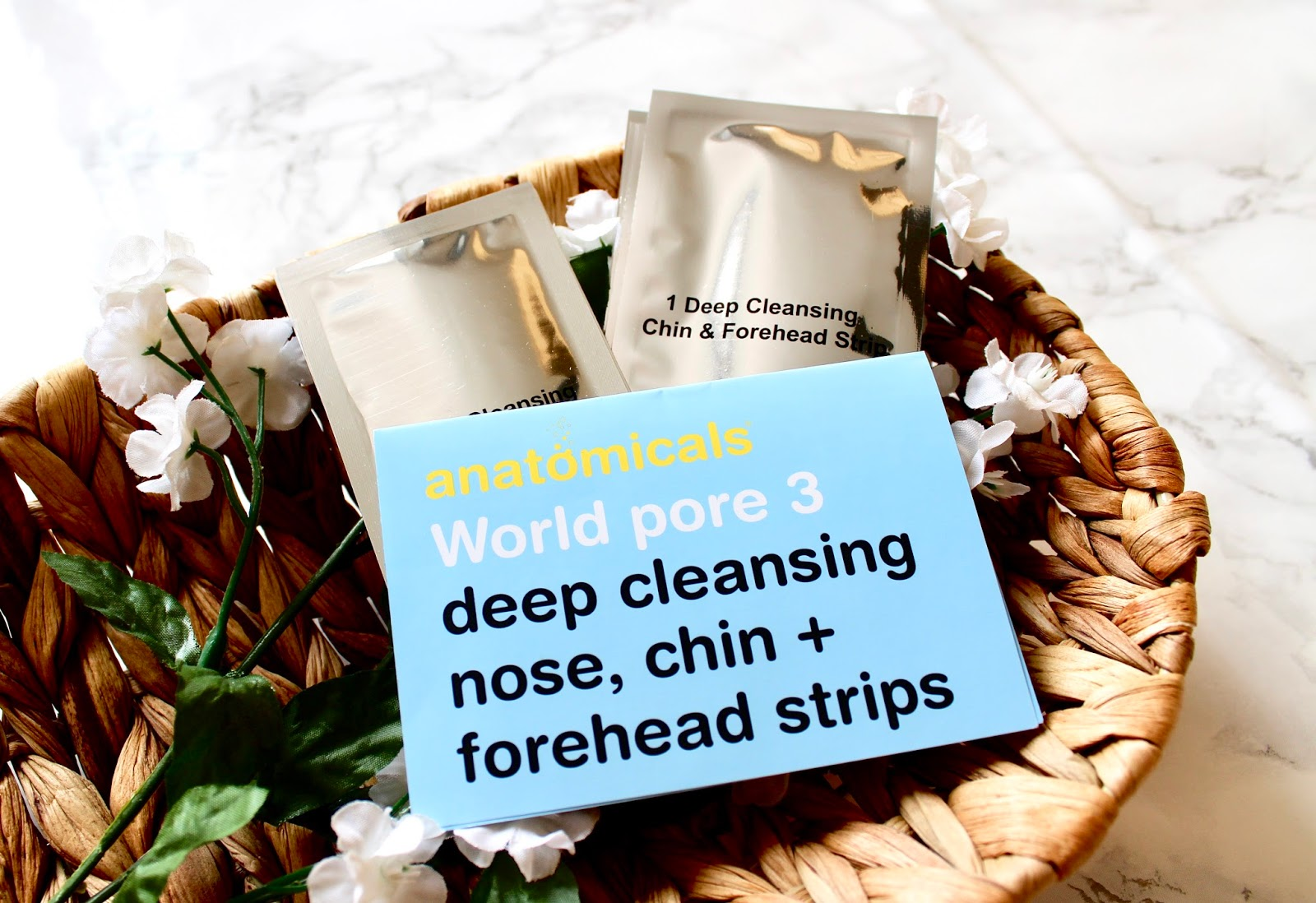 World Pore 3 Deep Cleansing Nose, Chin & Forehead Strips