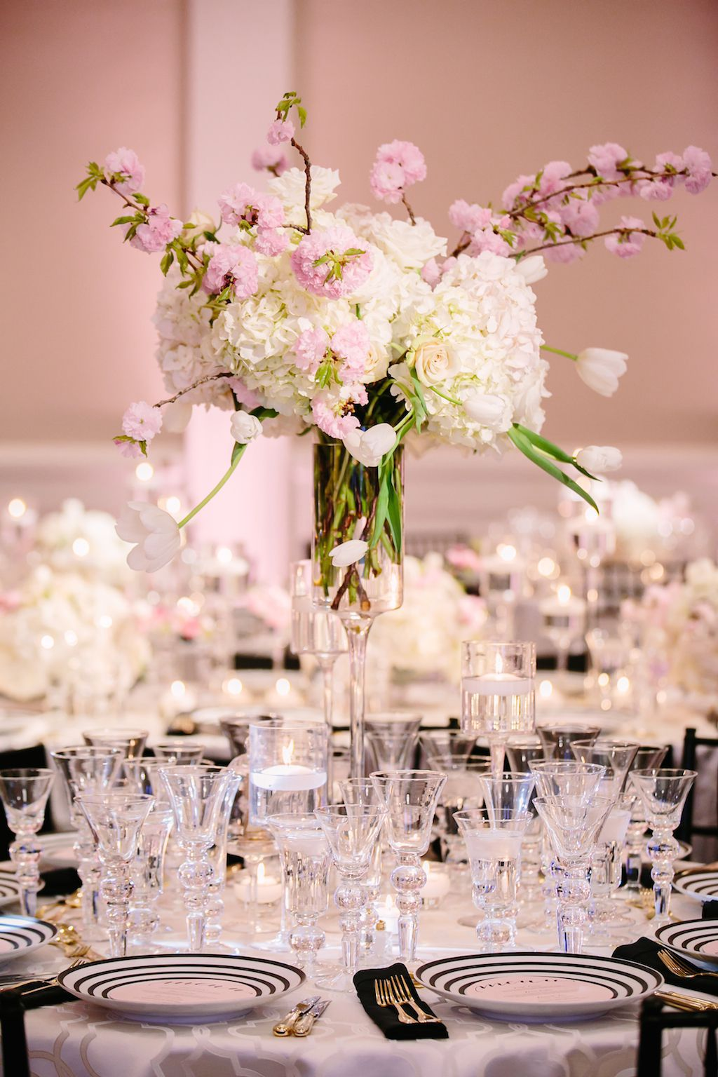 Oriental Themed Weddings With Cherry Blossom Wedding Decorations ...