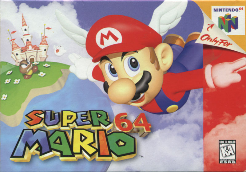 ROMs - Super Mario 64 (Português) - N64 Download