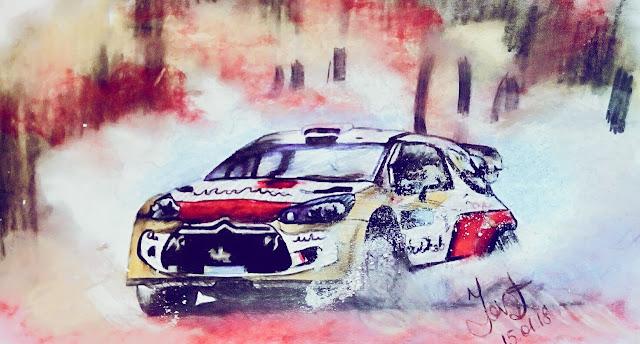 Motorsport art personal