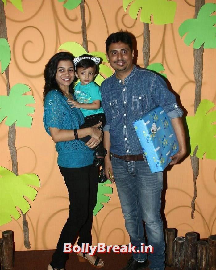 Umesh Shukla, Divya Khosla Kumar's son Ruhaan's Birthday Bash