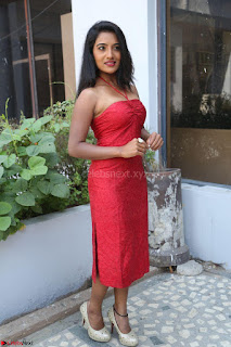 Mamatha sizzles in red Gown at Katrina Karina Madhyalo Kamal Haasan movie Launch event 227.JPG