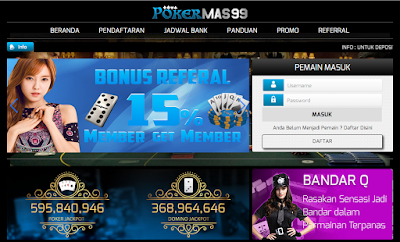 Pkmas.Com Agen Poker | Agen Domino | Bandar Domino | Judi Poker Online | Bandarq Terpercaya