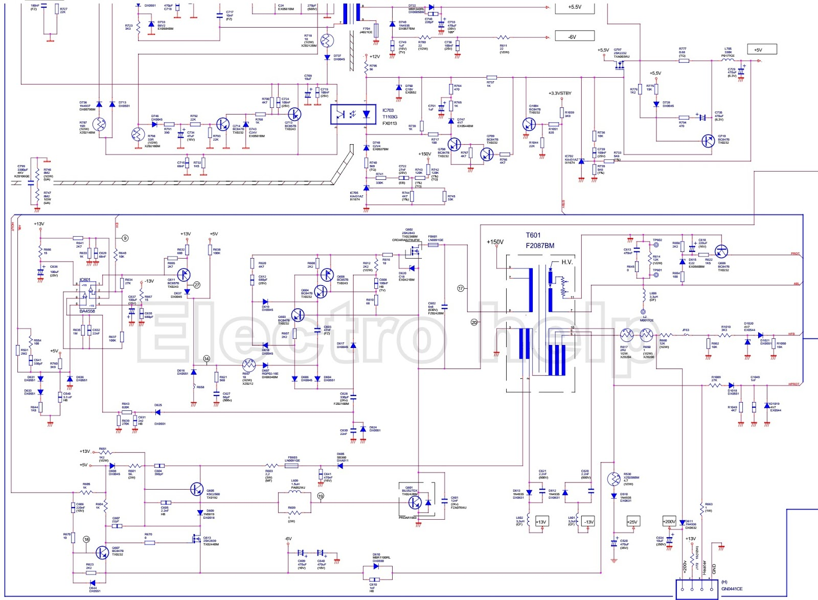 Magnificent 450w Smps Circuit Diagram Contemporary - The Best ...