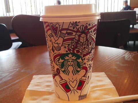 ホットココアGrande1 スターバックスコーヒー羽島福寿店