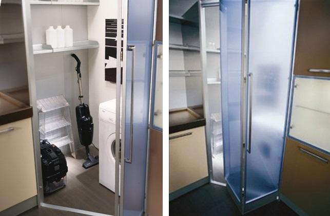 C mo organizar una zona de lavado en la cocina cocinas con estilo - Puertas escamoteables ...