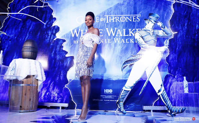 Game of Thrones Season 8 premieres in Lagos with White Walker by Johnnie Walker