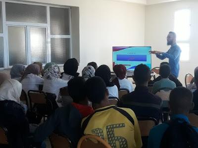 نشاط توعوي حول ظاهرة الغش  بالثانوية الإعدادية سيدي بنحمدون المديرية الإقليمية ببرشيد