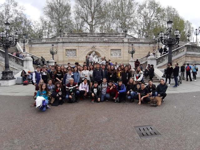 Εκπαιδευτική επίσκεψη του 1ου Γυμνασίου Ναυπλίου στην Ιταλία