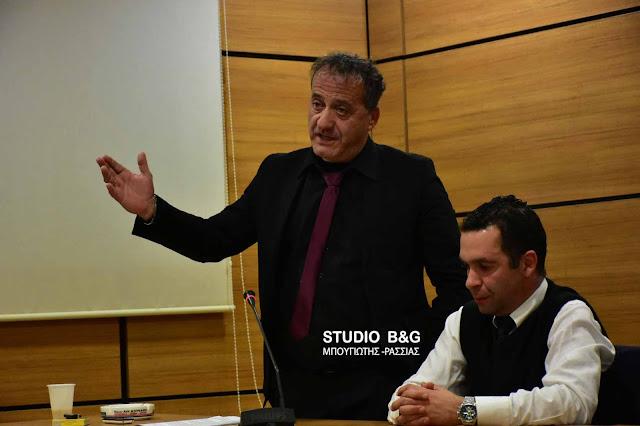 Η Ένωση Γραφείων Κηδειών Πελοποννήσου έκοψε βασιλόπιτα και ευχήθηκε καλές δουλειές  (video) DSC 4395PITA