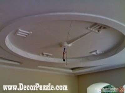 pop false ceiling design made of plasterboard 2017
