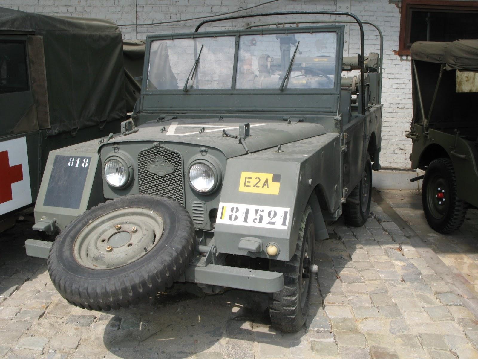 Automotive Database Land Rover Series