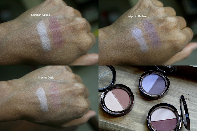 Osmosis Color Matte Duo Eye Shadows