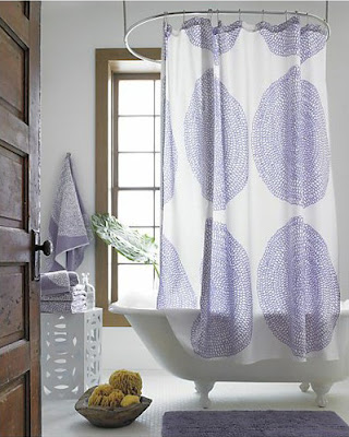Color Forecast Pantone Spring 2014 Color Report Purple Haze Bathroom White Tile Floors Bay Window White Bathtub