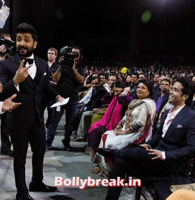 vir Das and Tushar Kapoor, IIFA Awards 2014 Pics