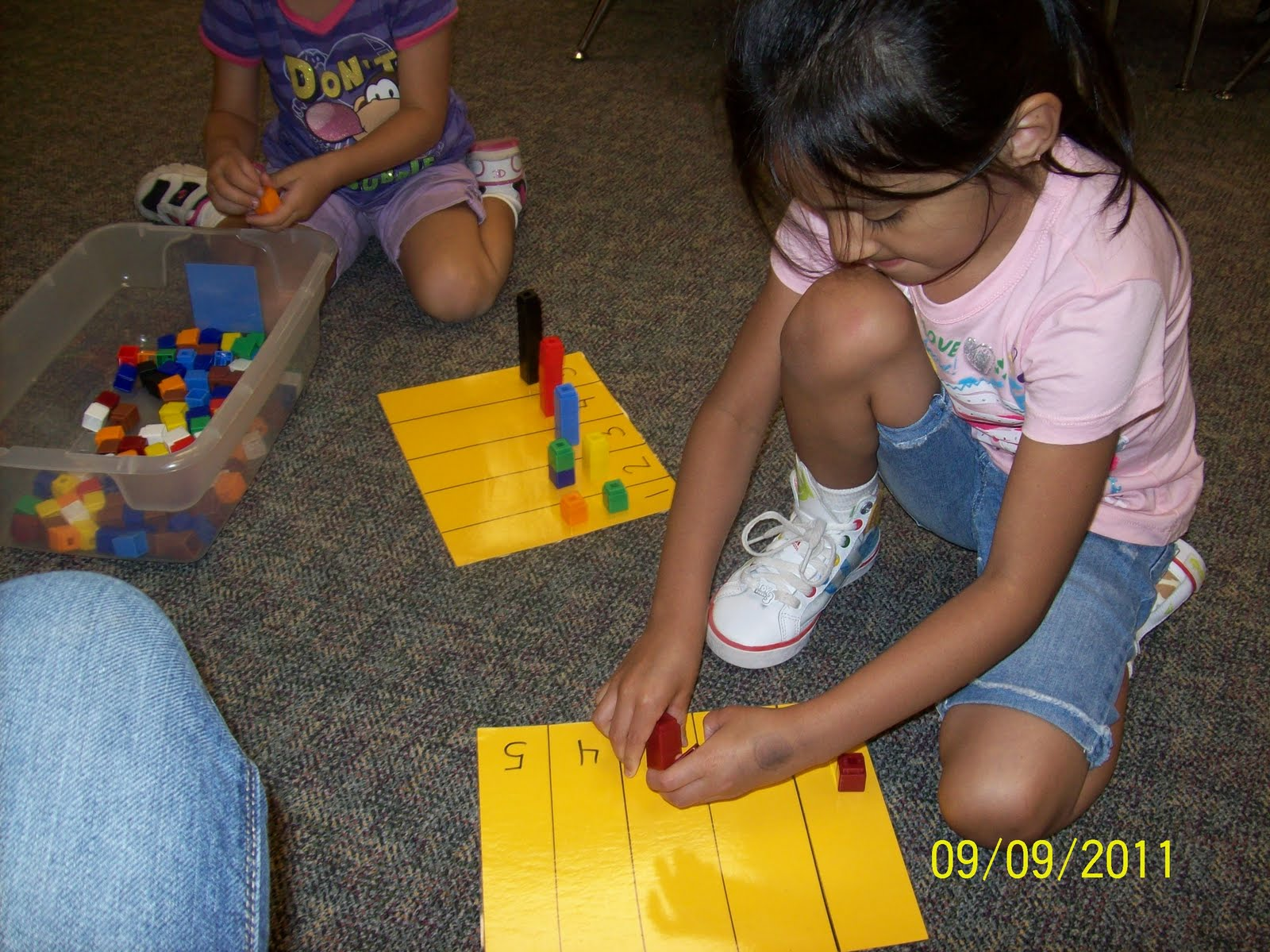 What I Learned In Kindergarten Math Stations Up And Running