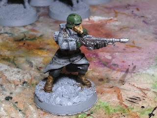 Death Korps of Krieg Soldier Test Model