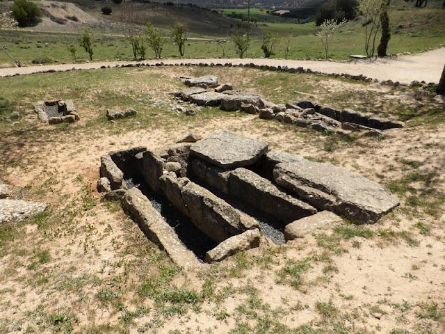 necrópolis visigótica en Segóbriga