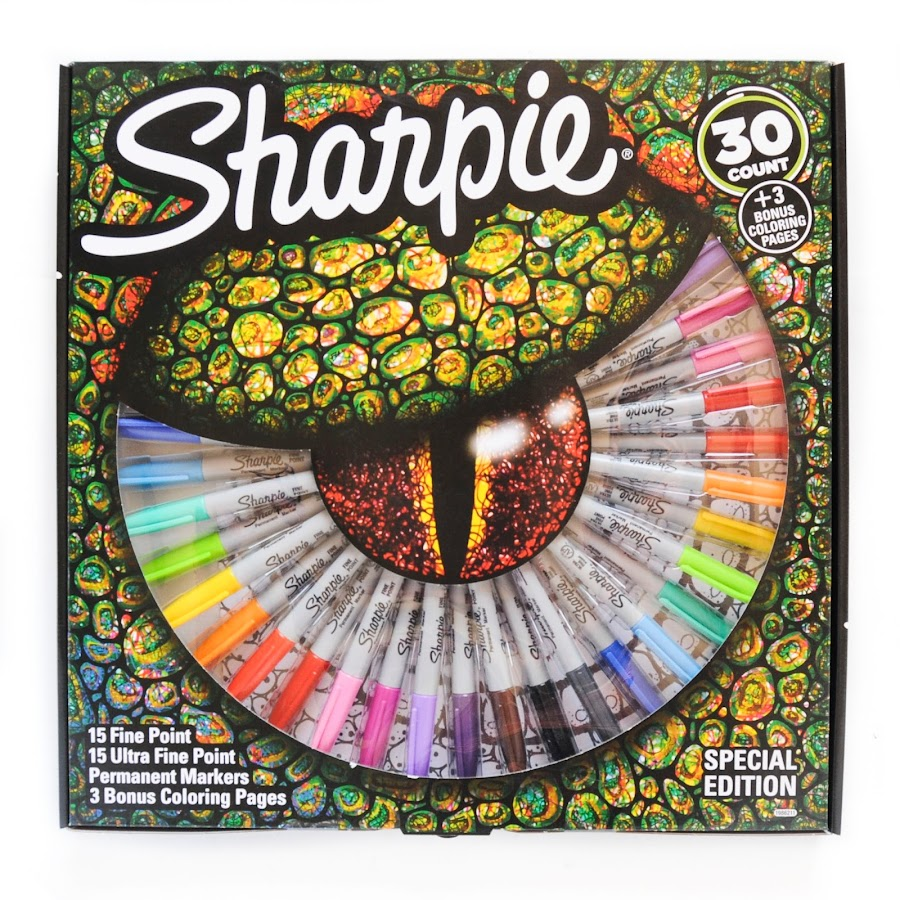 30 Special Edition Sharpie Permanent Markers | Jenny\'s Crayon Collection