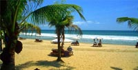 Pantai Kuta Balii - Denpasar City Tour