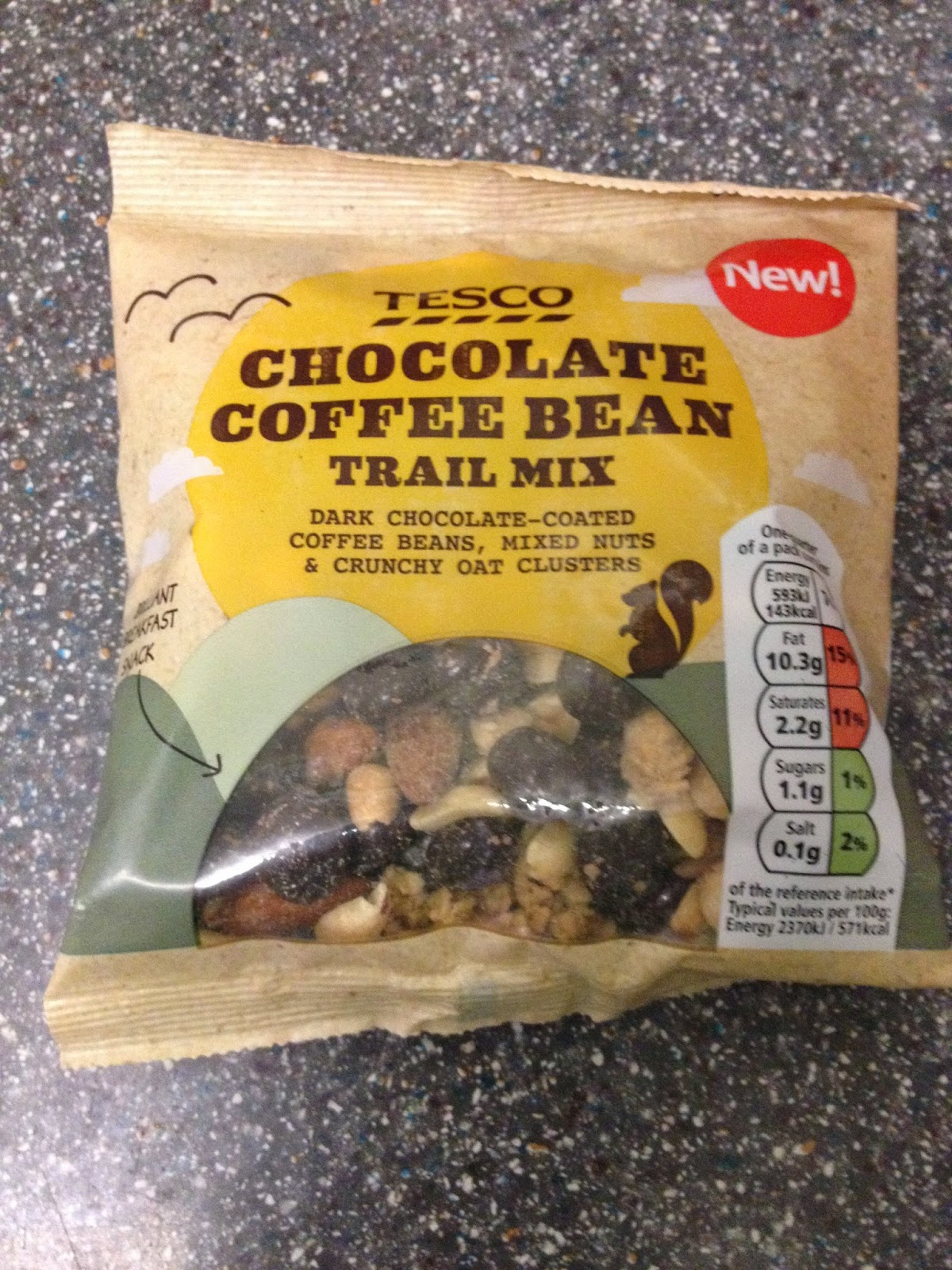 A Review A Day Todays Review Tesco Chocolate Coffee Bean