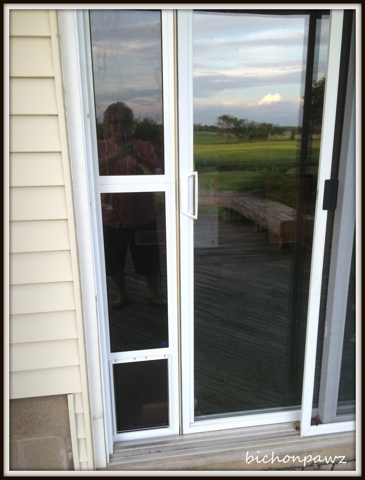 bichonpawz: #PetSafe Sliding Glass Pet Door Giveaway!!