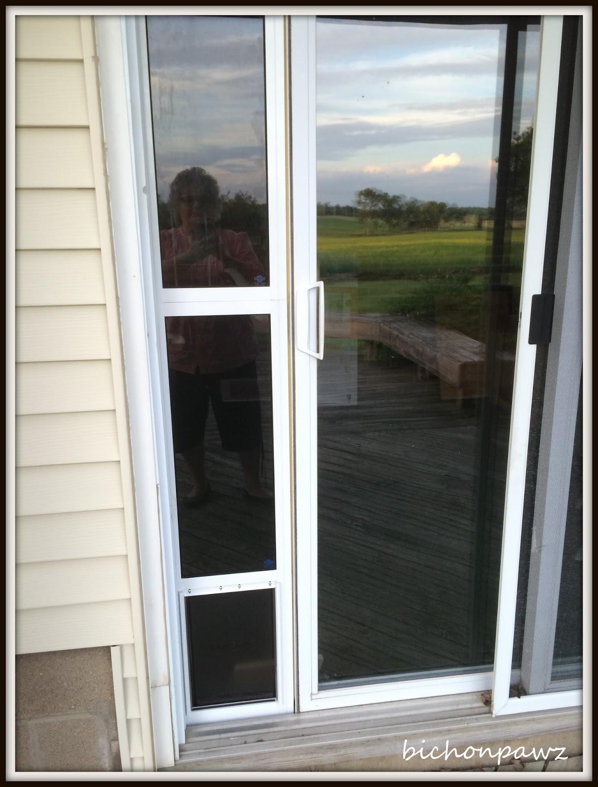 bichonpawz: #PetSafe Sliding Glass Pet Door Giveaway!!