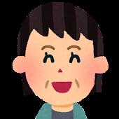 おばさんの顔アイコン 2