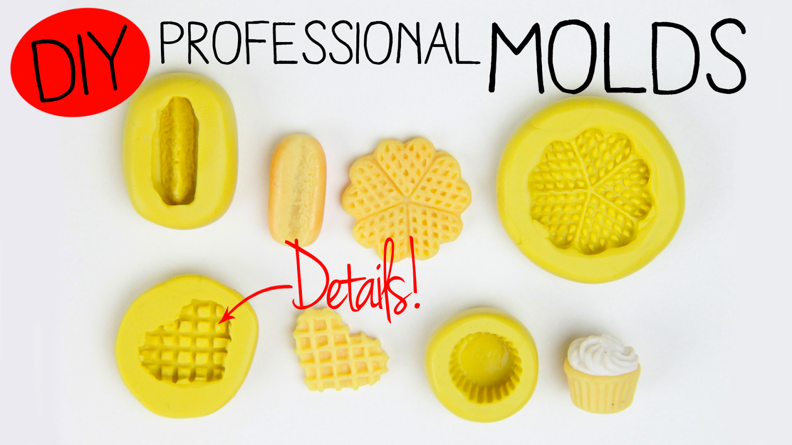 Toni Ellison: How To Make Professional Molds: Polymer Clay