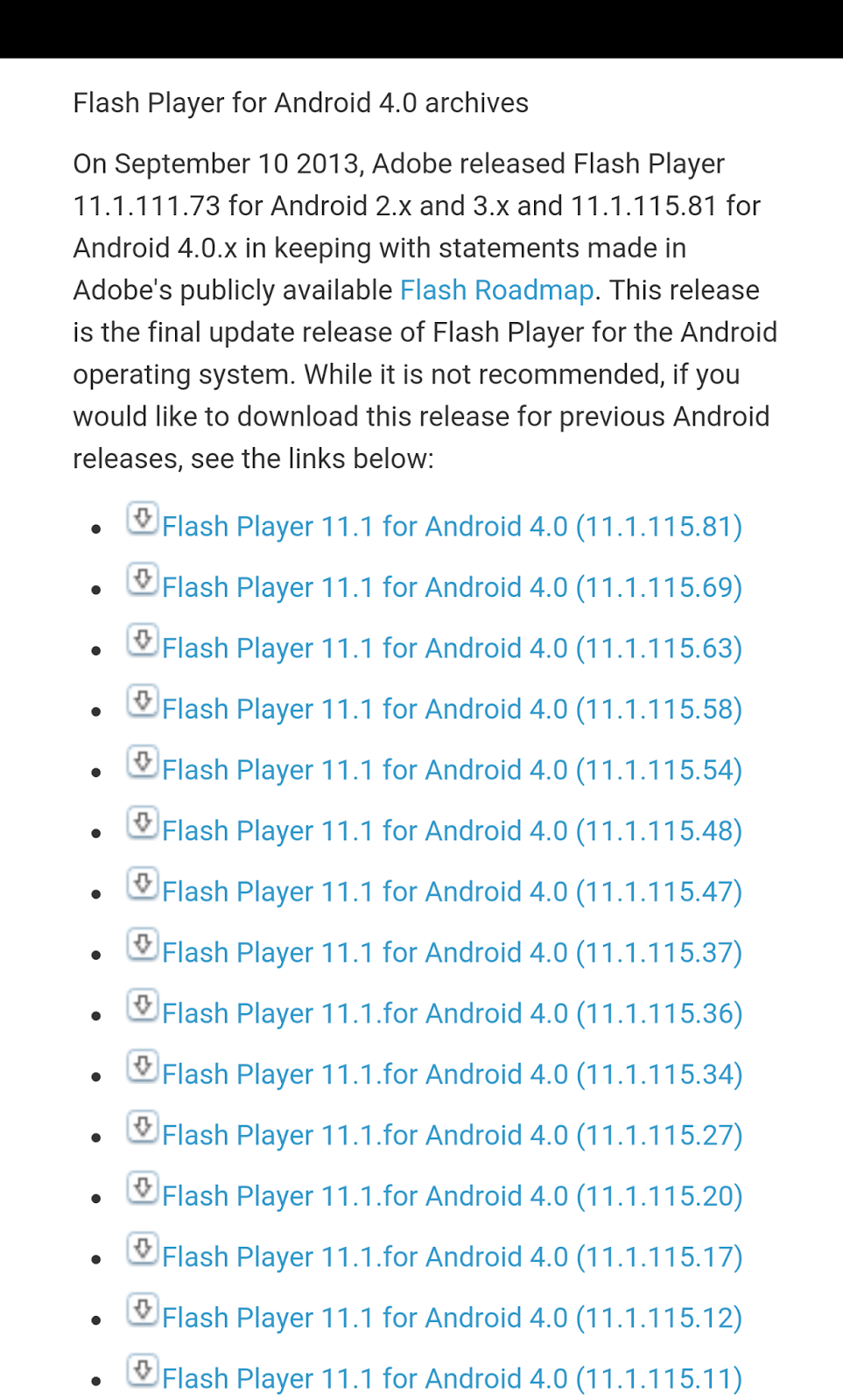 Adobe Flash for Android on LG G4 | Internet Tablets and MID