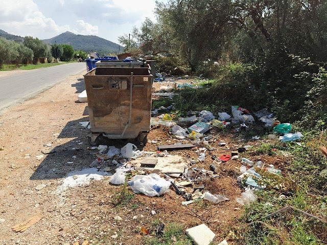 Η υπηρεσία καθαριότητας του Δήμου Ηγουμενίτσας