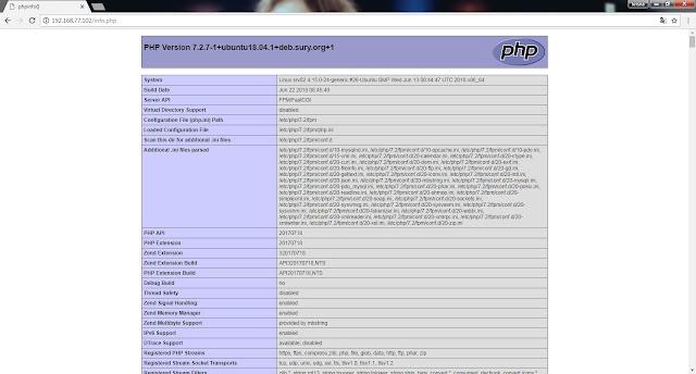 php7 - Tutorial Cara Install Nginx, MariaDB & PHP 7.2 pada Ubuntu 18.04