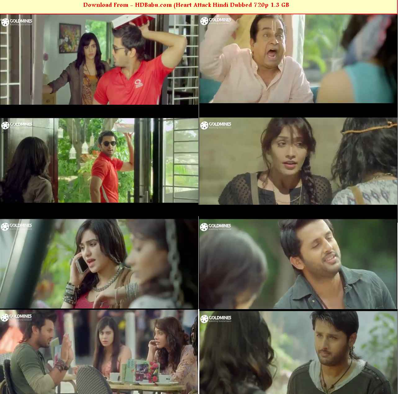 Heart Attack Hindi Dubbed Full Movie Download