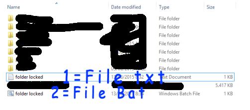 Trik Mudah Mengunci Folder tanpa Software di Laptop/Komputer OS Windows