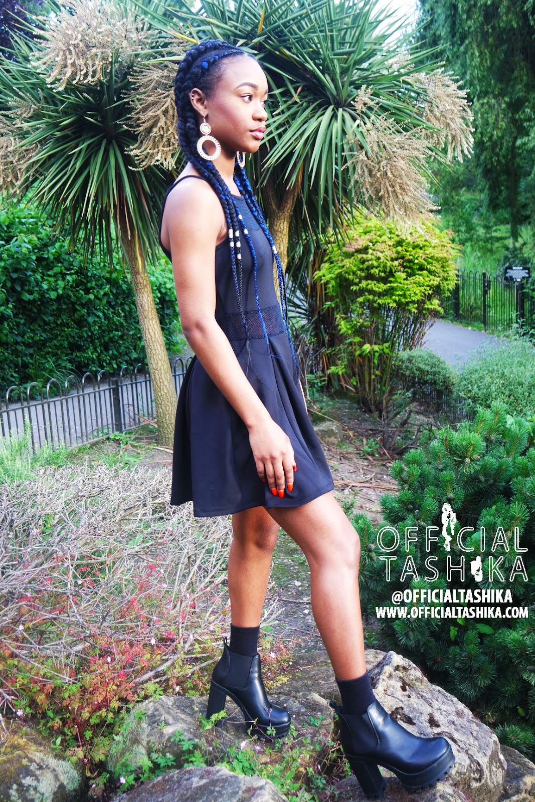Tashika Bailey | That Little Black Playsuit
