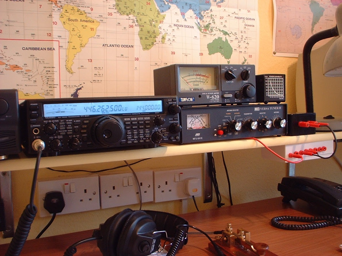 G4YDM  Ham Radio-Art-Photographs