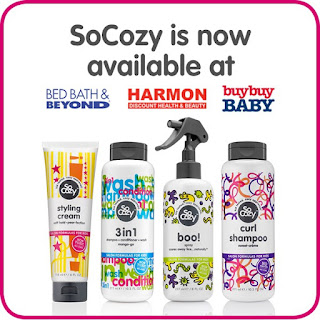 SoCozy Kids Hair Products Now Available in Stores | all dressed up with nothing to drink...