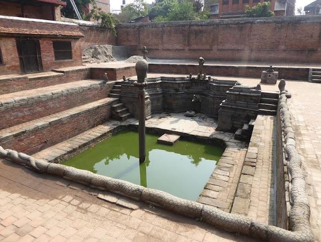 Naga Pokhari a Bhaktapur