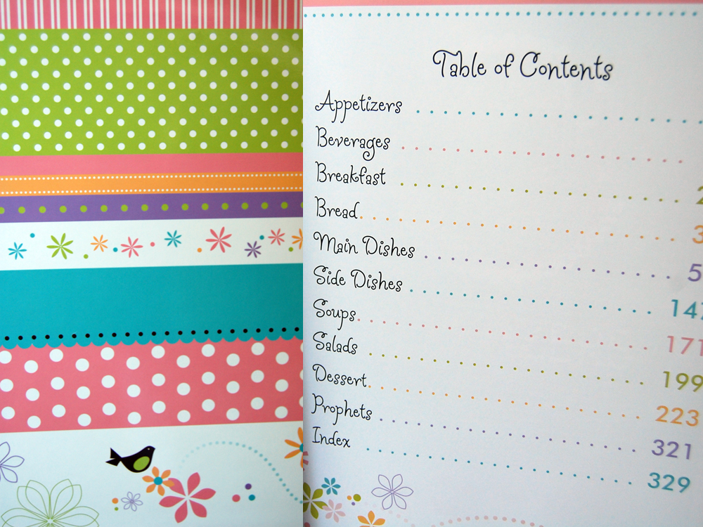Recipe Book Table Of Contents Template | www.imgkid.com ...