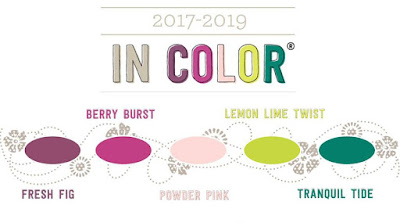 Stampin' Up! Susan Simpson UK Independent Stampin' Up! Demonstrator, Craftyduckydoodah!, 2017 - 2019 In Colours, Supplies available 24/7 from my online store,