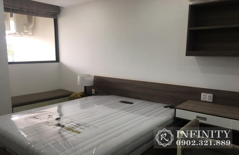 Cho thuê căn hộ Everrich Phát Đạt tại Quận 5  - giường ngủ