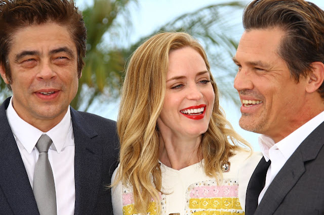 Emily Blunt 'Sicario' Photocall at the 68th Annual Cannes Film Festival