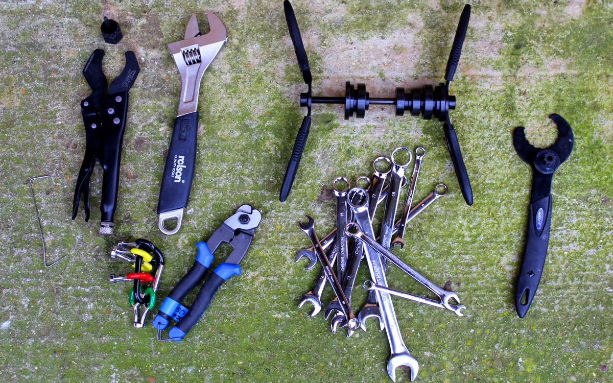 Home Workshop Bike Tools