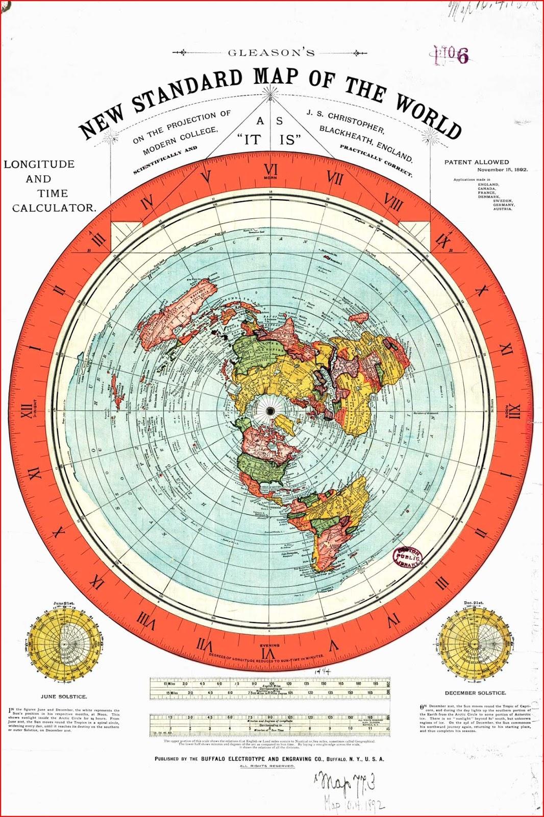 image: Flat map