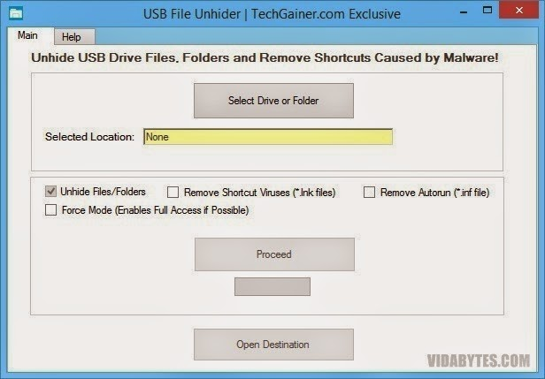 USB File Unhider