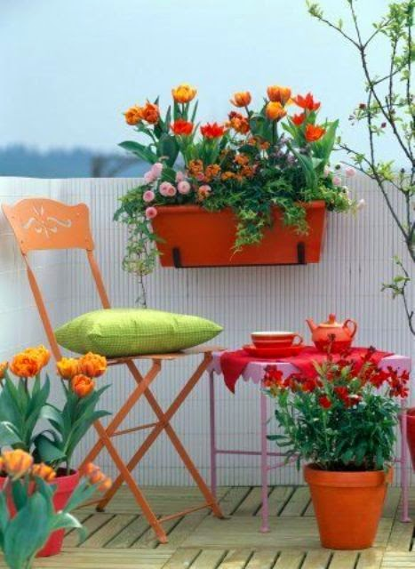 24 for How to decorate terrace with plants