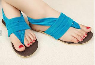5 Model Sepatu Sandal Wanita Murah dan Cantik Terbaru 2016