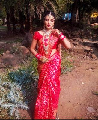 sonalika Prasad in saree