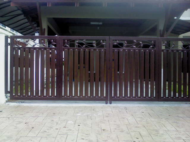 Utama Iron Works Sample Picture Wrought Iron Gate