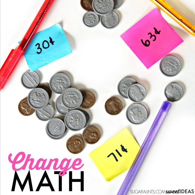 teaching kids money counting change the ot toolbox. Black Bedroom Furniture Sets. Home Design Ideas